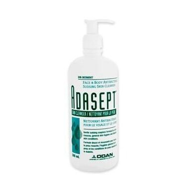 Adasept Antibacterial Face & Body Skin Cleanser 250ML
