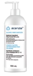 Hand Sanitizer Gel 70% Ascenzia 500ML
