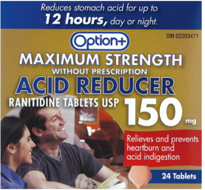 ACID REDUCER RANITIDINE MAX STRENGTH 150MG 24