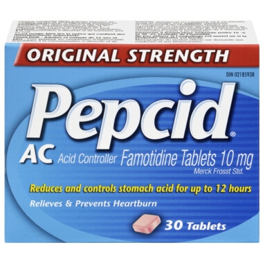 Pepcid AC Original Strength Tablets x30