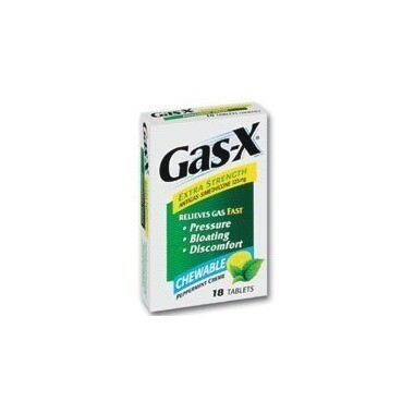 Gas-X Extra Strength Peppermint Chewable Tabs x 18