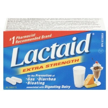 Lactaid Extra Strength Chewable Tablets x40