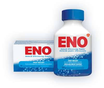 Eno Regular Antacid Powder Foil Sachets 10x5g