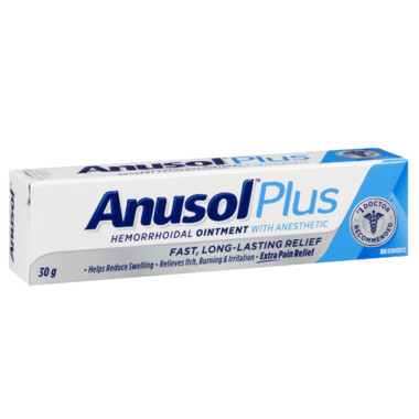 Anusol Plus Hemorrhoidal Ointment x30g