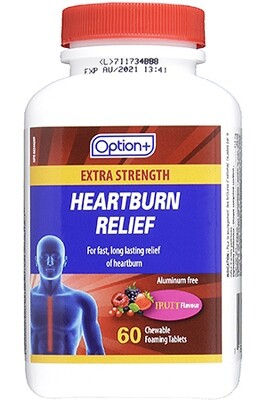 HEARTBURN RELIEF EXTRA STRENGTH TABS 60