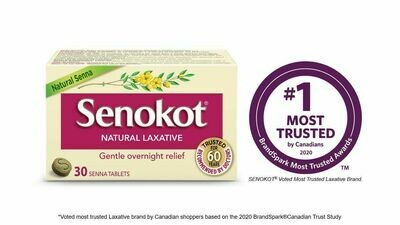 Senokot Natural Laxative Tablets x30