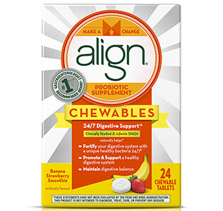 ALIGN Chewables Probiotic x24