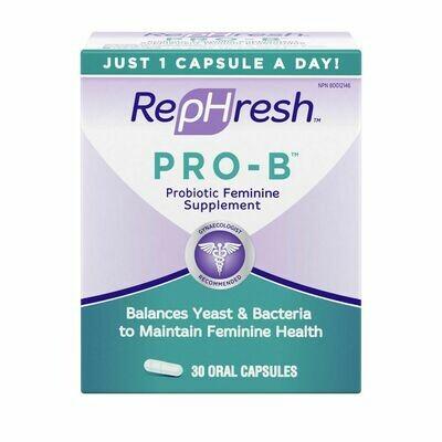 RepHresh Pro-B Probiotic Feminine Supplement x30