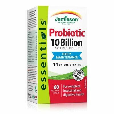 Jamieson 10 Billion Probiotic x60 caps