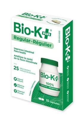 Bio-K+ Probiotic 25 Billion 15 Capsules (Refrigerated)