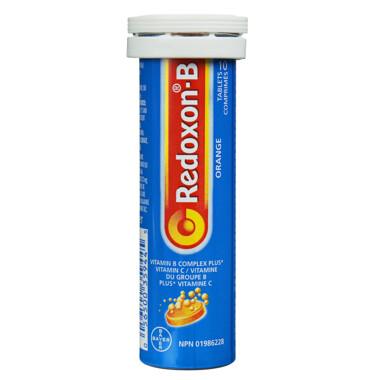 Redoxon Vitamin B Complex + Vitamin C x10 Tabs
