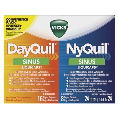Dayquil Nyquil Sinus Combo Liquicaps