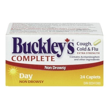 Buckley's Complete Extra Strength Day Caplets x24
