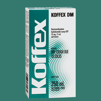 Koffex® DM Dry Cough Syrup 250Ml (Generic)