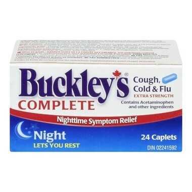 Buckley's Complete Extra Strength Night Time Caplets x24