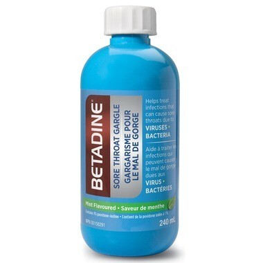 Betadine Sore Throat Gargle 240ML