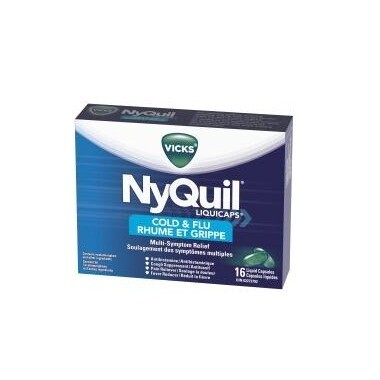 Nyquil Cold & Flu Liquicaps x16
