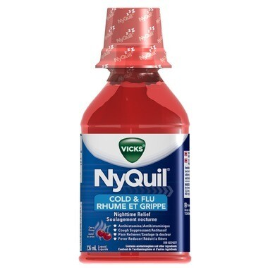 NyQuil Cold & Flu Multi-Symptom Relief Liquid Cherry 236ml