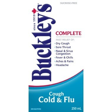 Buckley's Complete Cough, Cold & Flu 250ML