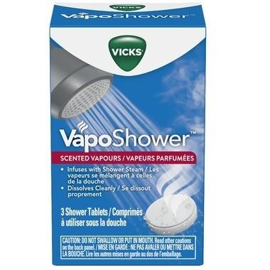 Vicks VapoShower Shower Tablets x3