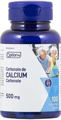 Calcium Carbonate 500mg x100 Tabs