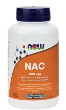 NOW NAC 600 mg 100 V-Caps