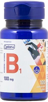 VITAMIN B1 (Thiamine) TABLETS 100MG 100