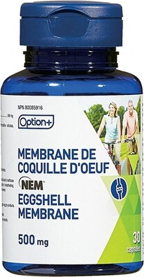 NATURAL EGGSHELL MEMBRANE 500MG 30