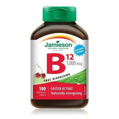 VITAMIN B12 | METHYLCOBALAMIN | FAST-DISSOLVING TABLETS 1000mcg x100