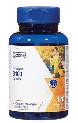 VITAMIN B100 COMPLEX TABLETS 120