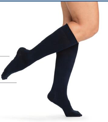 Sigvaris Compression Socks Knee High [Casual Cotton] 15-20mmHG (men & women)
