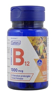 VITAMIN B12 TIME RELEASED TABLETS 1000MCG 100