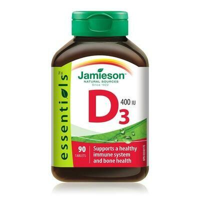 Jamieson Vitamin D 400IU 90 Tabs