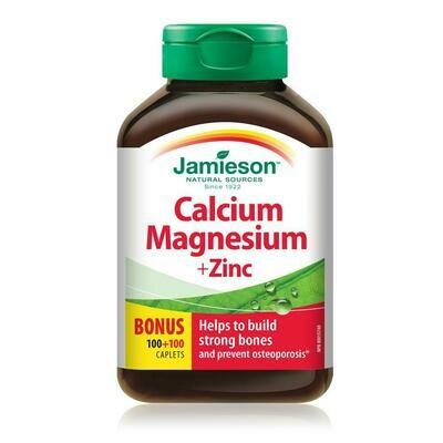 Jamieson CALCIUM, MAGNESIUM & ZINC