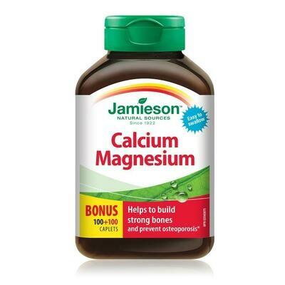 Jamieson CALCIUM & MAGNESIUM 200 Caplets