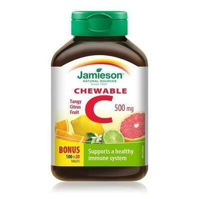 Jamieson VITAMIN C | CHEWABLES 500mg 120