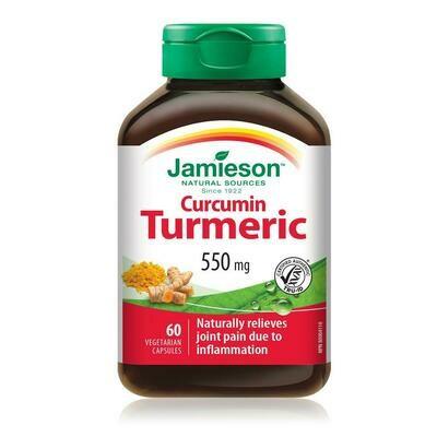 Jamieson CURCUMIN TURMERIC 550mg