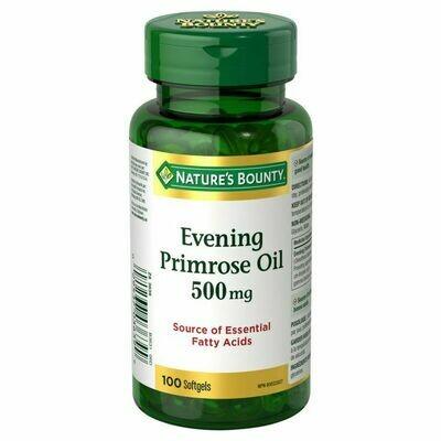 Nature's Bounty Evening Primrose Oil x100