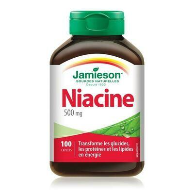 Jamieson Niacin 500mg