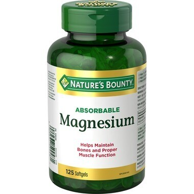 Nature's Bounty Absorbable Magnesium x125