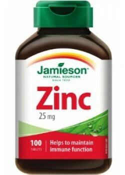 Jamieson Zinc 25mg