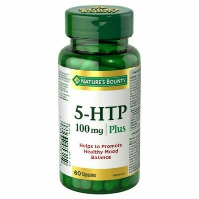 Nature's Bounty 5-HTP 100mg for Healthy Mood x120