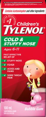 Children's TYLENOL® Cold & Stuffy Nose