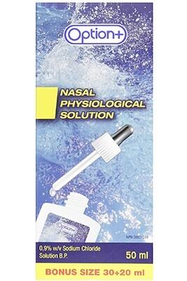 Option+ SALINE NASAL Spray 30+20ML