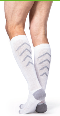Sigvaris Compression Socks Knee High [Athletic Recovery] For Women & Men 15-20mmHG