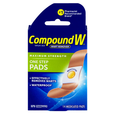 Compound W Wart Remover Pads x14