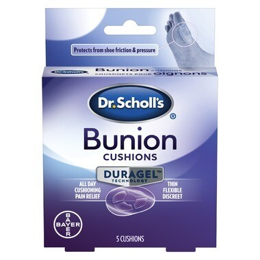 Dr. Scholl's Bunion Cushions with DURAGEL Technology x5 cushions