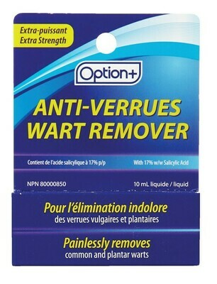 Option+ WART REMOVER 10ML (Generic Compound W Wart Remover)