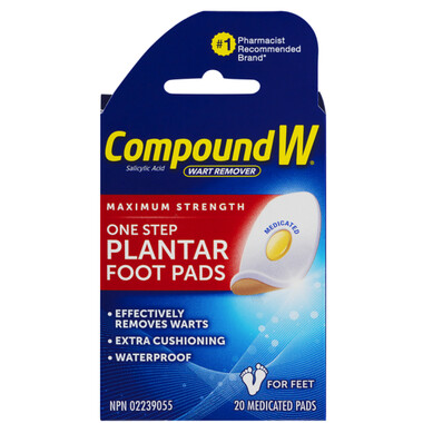 Compound W Wart Remover Pads x 20