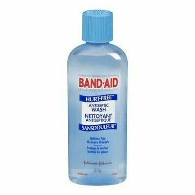 Band-Aid Brand HURT-FREE Antiseptic Wash